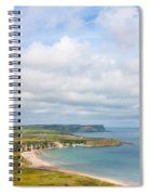 Portrait View Of White Park Bay Spiral Notebook