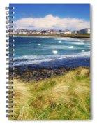 Portrush, Co Antrim, Ireland Seaside Spiral Notebook