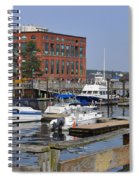 Portsmouth Waterfront Pwp Spiral Notebook