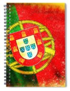 Portugal Flag  Spiral Notebook