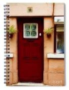 Portugal Red Door Spiral Notebook