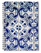 Portuguese Azulejo Spiral Notebook