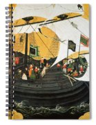 Portuguese Galleon Spiral Notebook