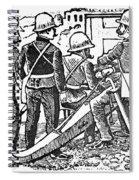 Posada: The Artillerymen Spiral Notebook