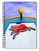 Poseidon's Steed Spiral Notebook