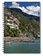 Positano Seaside Spiral Notebook