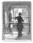 Post Office, 1856 Spiral Notebook