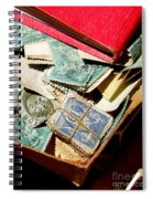 Postage Stamps Spiral Notebook