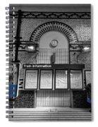 Poster Boy Spiral Notebook