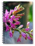 Posteredged Flowers Spiral Notebook