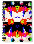 Postive And Negative Space Spiral Notebook
