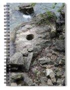 Pot Hole In Niagara River Spiral Notebook