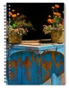Pots Over Peeling Paint Spiral Notebook