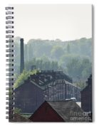 Potteries Urban Landscape Spiral Notebook