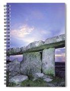 Poulnabrone Dolmen, The Burren, Co Spiral Notebook