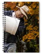 Pouring Wine Spiral Notebook