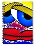 Pout Spiral Notebook