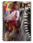 Pow Wow Dancer Spiral Notebook