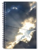 Power Of Light Spiral Notebook