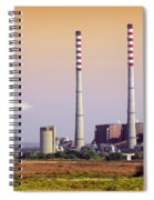 Power Plant Spiral Notebook