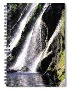 Powerscourt Waterfall, Co Wicklow Spiral Notebook