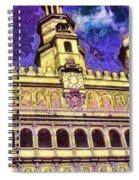 Poznan City Hall Spiral Notebook