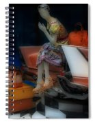 Prada Paris Spiral Notebook