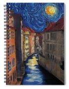 Prague By Moonlight Spiral Notebook