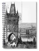 Prague: Carlsbridge Spiral Notebook