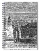 Prague: Castle Stairs Spiral Notebook