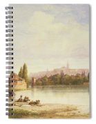 Prague Czechoslovakia Spiral Notebook