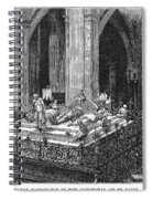Prague: Royal Tombs Spiral Notebook