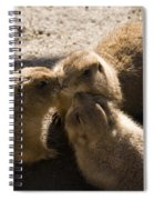 Prairie Dog Gossip Session Spiral Notebook