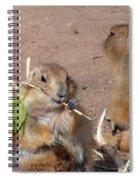 Prairie Dogs Spiral Notebook