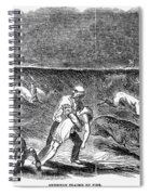Prairie Fire, 1844 Spiral Notebook