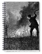 Prairie Fire, 1874 Spiral Notebook