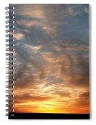 Prairie Sunset No1 Spiral Notebook