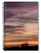 Prairie Sunset No3 Spiral Notebook