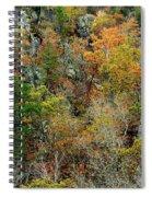 Prarie Hollow Gorge In Autumn Spiral Notebook