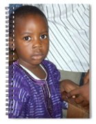 Precious Nigerian Boy Spiral Notebook