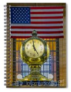 Precious Time And Colors Spiral Notebook
