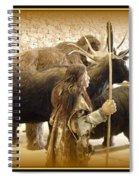 Prehistoric Man And Friends Spiral Notebook