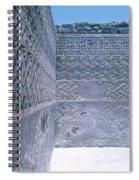 Prehistoric Ruins Of Mitla Spiral Notebook