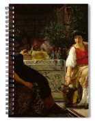 Preparations For The Festivities Spiral Notebook