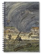 Kansas Cyclone, 1887 Spiral Notebook