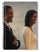 President Obama And First Lady Spiral Notebook