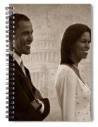 President Obama And First Lady S Spiral Notebook