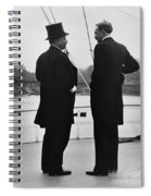 President Roosevelt And Gifford Pinchot Spiral Notebook