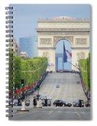 President Sarkozy Spiral Notebook
