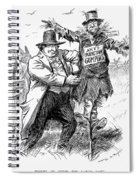 Presidential Campaign, 1908 Spiral Notebook